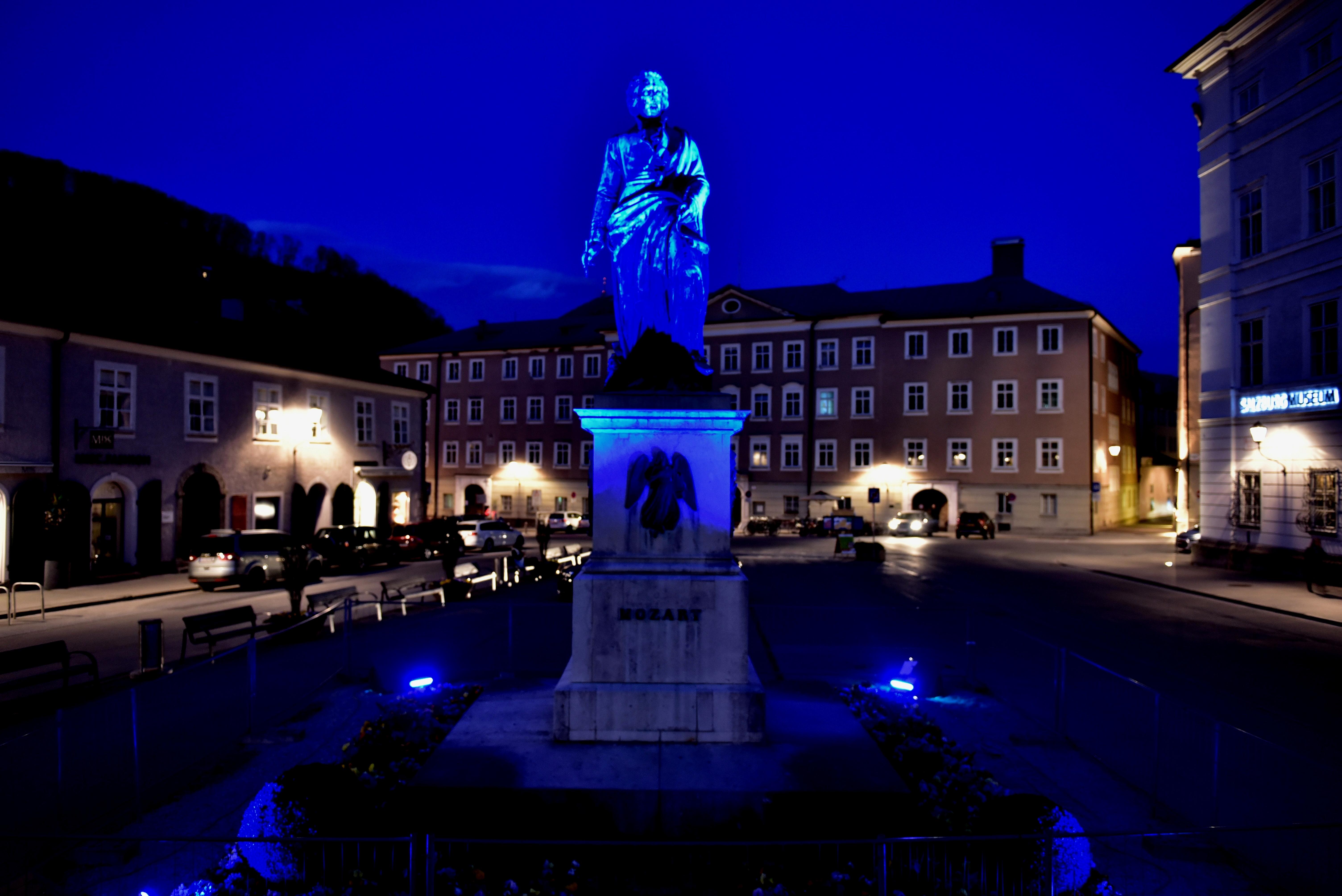 Die Stadt Salzburg glänzte mit einem
