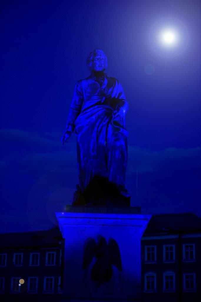 Himmlisch zur blauen Stunde. Fotos:Stadt Salzburg/Johannes Killer