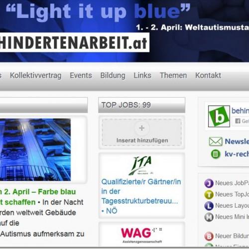 Andere machten die Website blau.
