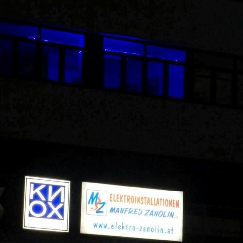 Elektro Zanolin in Rum/ Tirol machte auf das Thema Autismus aufmerksam.